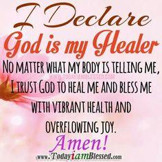 God my healer
