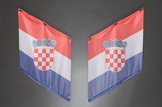 Fahnen | Armfahnen | flags | armflags | Fanartikel | Merchandising | Kroatien, Croatia, Hrvatska für 14,95 Euro