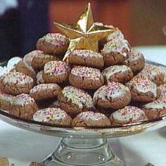 Mrs. Tigani's Chocolate and Black Pepper Cookies / <i>Biscotti al Cioccolato con Pepe Nero</i>