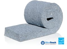 Cotton bat insulation -recycled materials