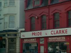 Pride and Clarke's motorbike shop, Stockwell Rd, Brixton, London
