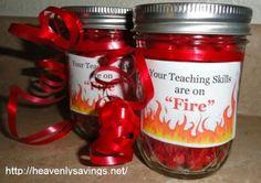 Hot Tamale Teacher Gift