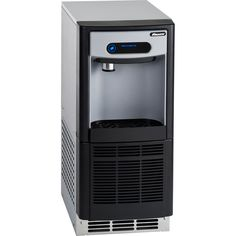 """Follett 7UD100A-NW-CF-ST-00 7 Series ADA Height 14 5/8"""" Air Cooled Chewblet Undercounter Ice Maker and Dispenser with Filter - 7 lb."""