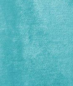 "Turquoise Stretch Velvet by the yard    Turquoise Stretch Velvet Fabric  $11.65per yard (1 to 9 yards)  Buy 10 or more, pay $9.50 per yard  Material: 90% Polyester, 10% Spandex  Width: 60""  Weight: 360 grams        4x4 sample is a buck not sure on shipping. This would brighter up any living room"