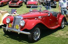 1954 MG TD 1250 Roadster My dad had one just like it