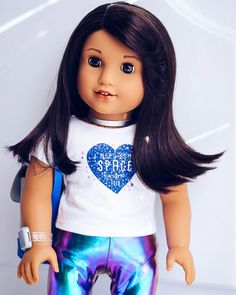 American girl of the year luciana vega 2018 so cute! American Girl Doll Pictures, American Doll Clothes, Girl Doll Clothes, Girl Pictures, Girl Photos, Barbie Clothes, American Dolls, Ag Dolls, Girl Dolls