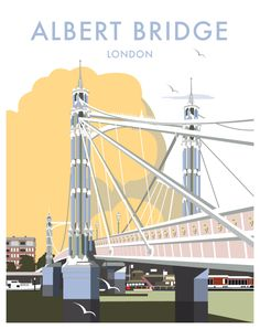 Albert Bridge (davethompsonillustration.com)
