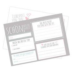 50 Frau Wundervoll Postkarten Hochzeitsspiel - Wünsche für eine gute Ehe - 10,5 x 14,8 cm, 300 Gramm Papier Diy And Crafts, Bullet Journal, Lettering, Gramm, Party, Things To Sell, Guestbook Ideas, Freebies, Giveaways