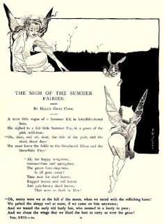 """""""The Sigh of the Summer Fairies"""" - Fanny Y. Cory by docarelle, via Flickr"""