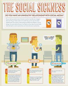 Social media typen krankheiten Ausschnitt