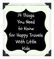 For anyone traveling with little kids...this is logistics like airport requirements, making your condo comfortable and more!