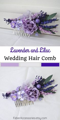 wedding accessories boho wedding flowers for bridal hairstyle stabilized flower combs combs paints dried flowers blue lavender