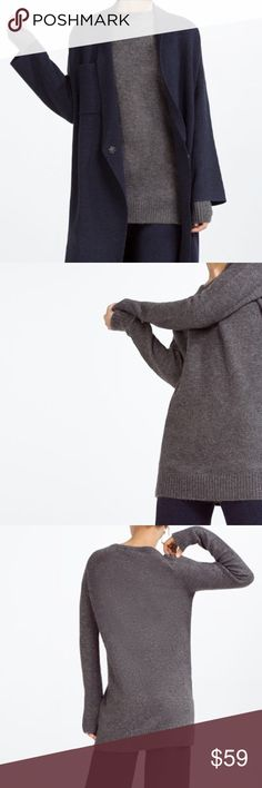 ZARA Knitwear Collection Sweater Dress Brand new with tags, never worn. Zara Sweaters