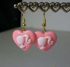 Barbie Cameo Earrings