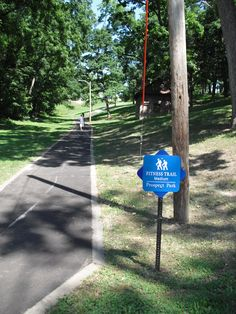 Fitness trails can be found around Prospect Park. Easy, Medium and Hard trails are available.