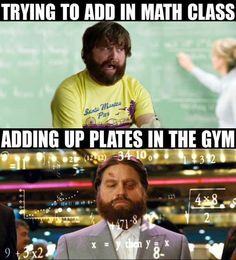 And sometimes your gym skills don't translate to real life. | 20 Things That Will Make Total Sense If You Lift Weights