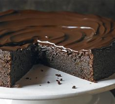 Chocolate and ginger torte