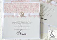 Invitación 15 elegante corona