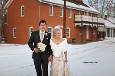 @Cimarron Ballantyne a wintry wedding at the jasper house?