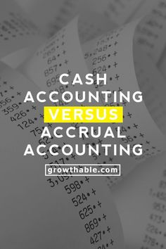 Should I Use Cash Basis or Accrual Basis Accounting for My Business? Find out the difference between cash and accrual as well as which method you should use. Accounting Training, Business Accounting Software, Bookkeeping Software, Small Business Bookkeeping, Accounting Principles, Bookkeeping And Accounting, Small Business Accounting, Accounting And Finance, Business Money