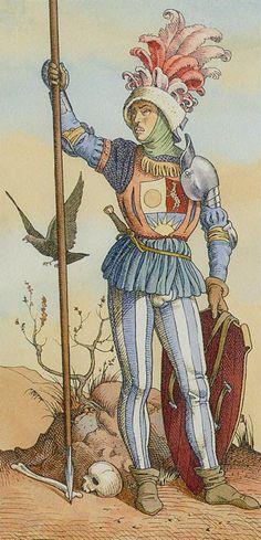 Page of Pentacles - Dürer Tarot