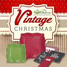 Vintage #Christmas #Party Supplies