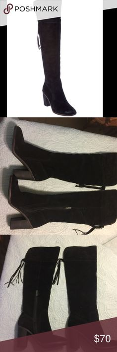 NEW Franco Sarto Ellyn Over The Knee Boots NEW Franco Sarto Ellyn Over The Knee Boots Size 9. Gorgeous! Franco Sarto Shoes Over the Knee Boots