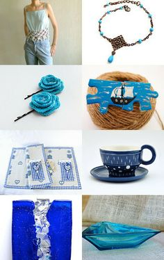 summer is BLUE by eoikonom on Etsy--Pinned with TreasuryPin.com