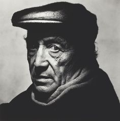 Irving PENN :: Isamu Noguchi, NY, Dec. 1983 | The Art Institute of Chicago