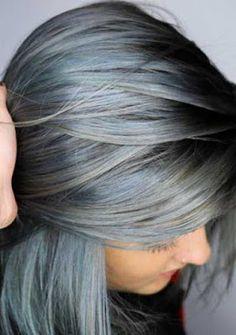 hair color #denimhair