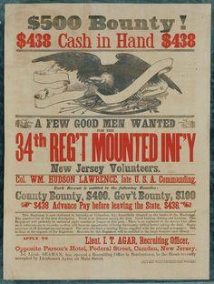 American Civil War Recruiting Posters