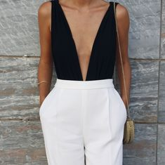 Clothes black and white casual chic 42 Ideas for 2019 Black Women Fashion, Curvy Fashion, Look Fashion, Womens Fashion, Preppy Outfits, Classy Outfits, Cute Outfits, Fashion Outfits, Fashion Boots