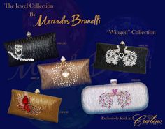 Embrace Your inner Jewel with an evening clutch by Mercedes Brunelli designed especially for Cristino Fine Jewelry. This Collection is unique and elegant and is the perfect addition to every women's wardrobe. Evening Clutches, Fine Jewelry, Shoulder Bag, Jewels, Elegant, Unique, Bags, Collection, Women