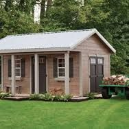 Rustic Garden Sheds With Porches With It S Porch And