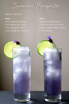 Die erwachsene Art Tequila zu trinken The Grown-Up Way To Drink Tequila Lavendel Margarita Fancy Drinks, Summer Drinks, Cocktail Drinks, Vodka Cocktails, Prosecco Drinks, Limoncello Cocktails, Paloma Cocktail, Spring Cocktails, Cocktails With St Germain