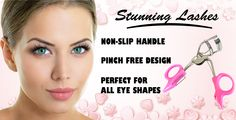 Stunning eyelashes in seconds with ForteBellezza pink eyelash curler: http://fortebellezza.com/pink-eyelash-curler/