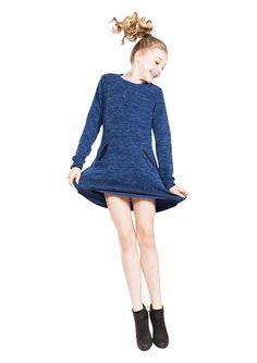 Vicky Navy- Tween Girl Dresses - MissBehaveGirls.com