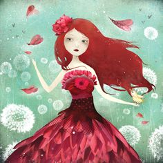 """The Flower Fairy"", Anne-Julie Aubry"