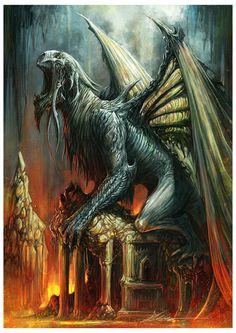 #Dragon by Alex Boca