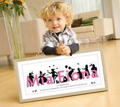Geschenk zur Geburt, Taufgeschenk, personalisiert von miko miko   auf DaWanda.com