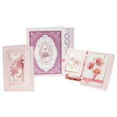 So girly! #Cards #Papercraft