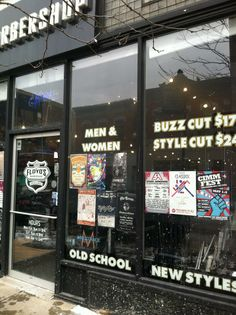 Shout out to our friends at Floyd's 99 Barbershop making 2014 your best looking year yet! We appreciate the neighborly love and support. #cimmfest2014 #mayday or bust #neighborhood #promotion #workit