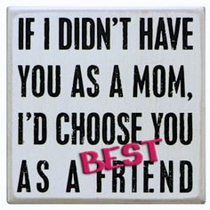 SALLIE KORMAN, WORLD'S BEST MOM … AND WORLD'S BEST FRIEND! AND WHEN THIS QUARANTINE is ALL OVER, I'LL TELL YOU THAT in PERSON! ❌⭕️! Id Choose You, Say Something, Best Mom, Best Friends, Told You So, Sayings, Beat Friends, Lyrics, Bestfriends