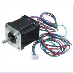 DuoWeiSi 3D Printer Parts 42 Stepper Motor Nema17 Shaft For 5mm Pulley RepRap CNC Prusa 3D Printer