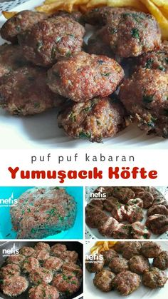 Fluffy Puff, Turkish Recipes, Ethnic Recipes, Snack Recipes, Snacks, Tasty, Yummy Food, Desert Recipes, Food And Drink