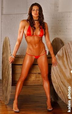 Former WWE Diva, mother of four and fitness trainer, Jackie Gayda