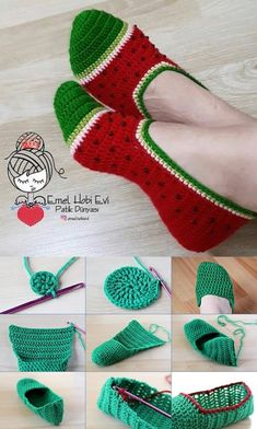 Crochet Mittens Free Pattern, Easy Crochet Hat, Crochet Slipper Pattern, Crochet Cross, Crochet Slippers, Crochet Doily Patterns, Crochet Designs, Knit Crochet, Fanny Pack Pattern