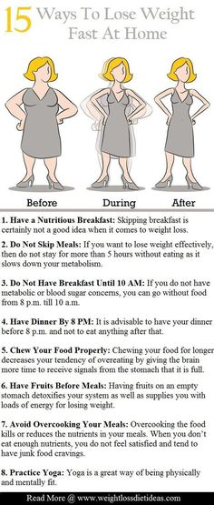Lose weight at home with these tips.