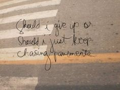Chasing Pavements - Adele