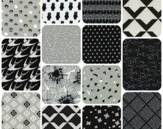 Designer fabrics bundles and by the yard. por LlamaFabrics en Etsy